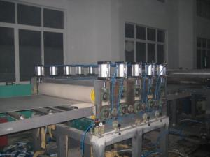China Wood Plastic Board Extrusion Line  on sale