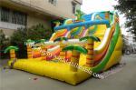 slip and slide for adult ,commercial slip n slide ,palm tree inflatable water slide