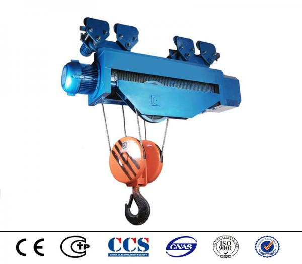 Industrial Trolley Hoist Electric Wire Rope Pulley Lifting Hoist ...