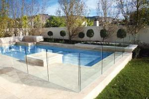 Polished Edges Low E Glass Pool Safety Fence With Astm Standard For Sale Pool Fencing Glass Manufacturer From China 105331335