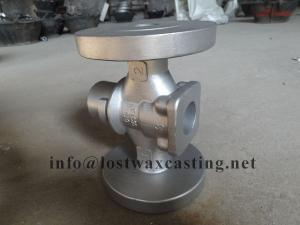 China Custom Made Silica Sol 304 316 Stainless Steel Casting Pump Impeller parts on sale