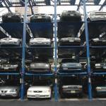 sistema do estacionamento do armazenamento para estacionar 12 carros