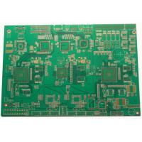 1-30 Layers FR4 Multilayer PCB Glass Reinforced Hydrocarbon Amplifier ENIG Silver /  Gold White Legend