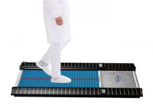 China Efficient Automatic Shoe Sole Cleaning MachineUltra Thin Body For Air Shower Room on sale