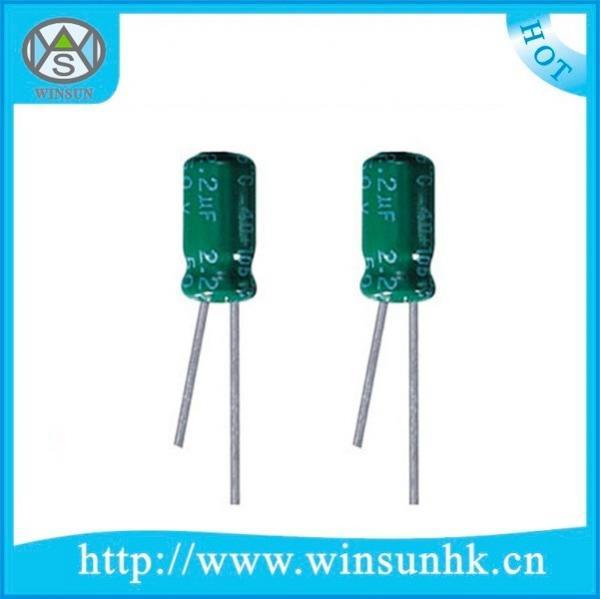 Aluminum Electrolytic Capacitors 100 Leaded 220uF 6.3 Volts 20/%