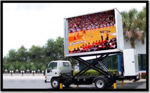 China P8 Outdoor SMD Mobile LED Display Screen Digital Signage , RGB 3 In 1 on sale