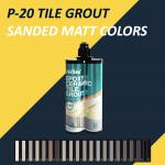 Customized Color Exterior Sanded Caulk , Smooth Paste Flexible Sanded Grout