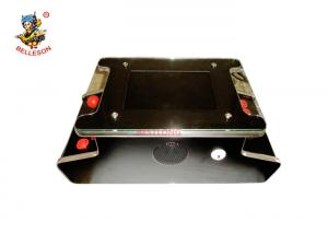 China Classic Black Mini Tabletop Arcade Game Machines Two Player 54X29X21 CM on sale