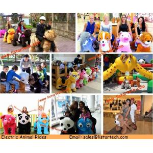 China Coin Toys Animal Ride Kids Coin Operated Happy Rides On Animals with High Quality on sale