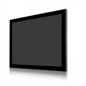 China Industrial 17inch Open Frame Multi Point Touch Display VGA DVI HDMI on sale