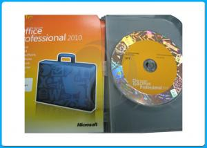 China 32bit 64bit DVD Microsoft Office 2010 Professional Retail Box office 2010 pro plus office 2013 activation guarantee on sale