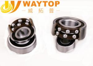 China Steel Cage Double Row Ball Bearing , Steel Ball Bearings P0 P6 P5 P4 P2 3304 on sale