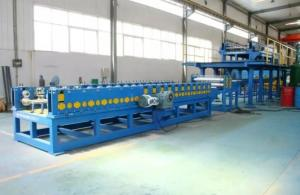 China Double Layer Sandwich Panel Roll Forming Machine Production Line For Building on sale