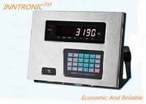 China Floor Scale Weighing Indicator Controller , Programmable Load Cell Controller on sale