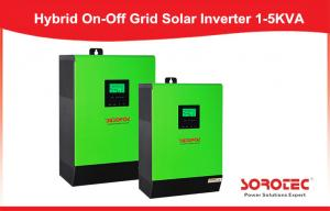 China High Frequency Solar Power Inverters , 3kva On Off Grid hybrid solar inverter on sale