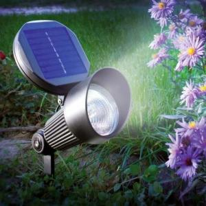 China Waterproof Wall and ground spot Solar LED Garden Lights aluminium casing on sale