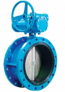 China AWWA C504 Resilient Sealing Triple Offset Butterfly Valve Ductile Iron DN200 on sale