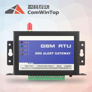 China CWT5110 GSM 3G /4G GPRS 4 digital io remote control via SMS /Call,gprs GSM cabinet lock on sale