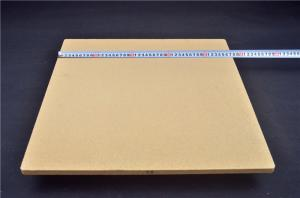 China Sanitary Ware Use Cordierite Kiln Shelves Yellow Color 495 * 475 * 15mm on sale