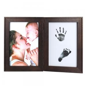 China Baby Handprint Footprint Picture Frame Baby Shower Gifts, Newborn Baby Keepsake Frames on sale
