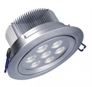 China Anti-glare E27 / B22 Recessed Dimmable COB LED spotlight bulb with Samsung SMD chip on sale