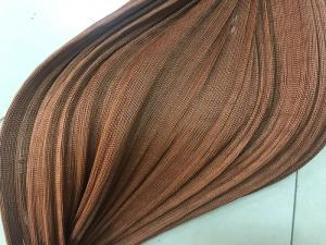 China 420D 100% Nylon Tyre Cord Fabric , Brown Color Rubber Hoses Fishing Fabric on sale