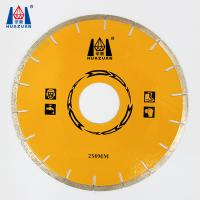 HUAZUAN 250mm diameter free chip marble diamond cutting discs