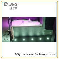 optic fibre SPA bath lighting kits with solid side glow optic fiber