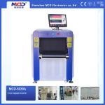 A exploração de alta resolução do raio X do aeroporto da cor faz à máquina o tamanho pequeno