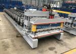 China High Rib Glazed Metal Roof Sheet Making Machine With 8m / Min Processing Speed wholesale