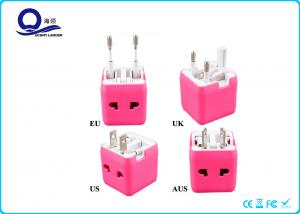 China Mini Square Universal AC DC Power Adapter , International Electrical Adapter on sale