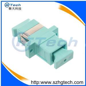 China Aqua Color Optical Fiber Adapter SC OM3 Duplex on sale