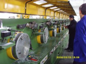 Quality 2.0m m 22 - 132 línea recta control del PLC de la trefilería de la máquina del for sale
