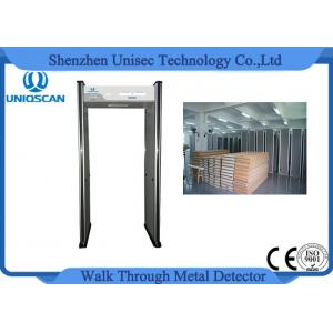 China Archway Portable Door Frame Metal Detector Security Gate With 6 Independent Zones on sale