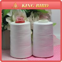 High Strength Raw White Thread Sewing Machine Low Elongation