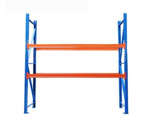 China 1.5 Tons Warehouse Storage Shelves Pallet Rack Shelving Strong Frame on sale