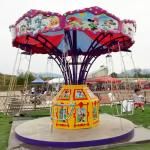 Flying Chair Ride Kids Amusement Ride Load 8 Riders With Mickey Decoration