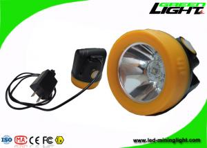 China Magnetic Charging Led Mining Headlamp , Mining Cap Lights For Occupational Safety on sale