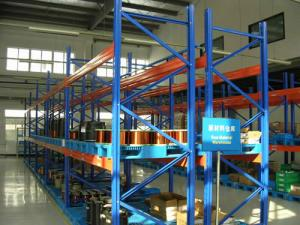 China Easy To Store Heavy Duty Metal Storage Racks Customized Color For Warehouse on sale