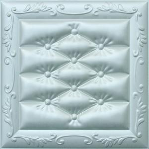 China Carved Leather Decorative 3D Wall Panels Fire Resistant Embossed on sale