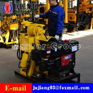 China HZ-130Y Hydraulic portable well drilling machine rotary drilling rig drill 130meters portable drilling machine on sale