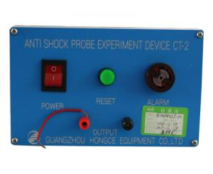 China IEC60335 Plug Socket Tester Anti Shock Probe Experimen Device 0-40°C Electrode Output The Testing Voltage AC40-50V on sale