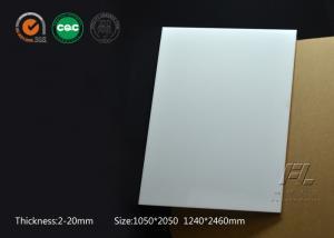 China Customized Anti Static Acrylic Sheet Pmma Sheet Cut To Size 1.2g/M3 Density on sale
