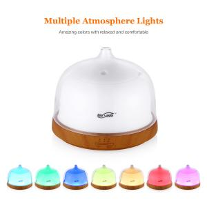 China 200Ml Aromatherapy Essential Oil Diffuser , Ultrasonic Aroma Diffuser With Adjustable Mist Modes on sale