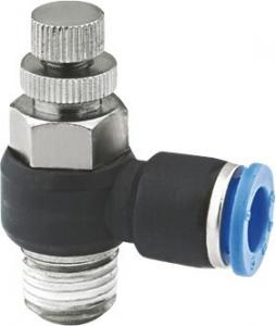 China Nickel Plated Brass Pneumatic Proportional Flow Control Valve 90 Degree Elbow on sale