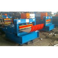 Corrugated Sheet Automatic Crimping Machine With Double Cylinder Cutting