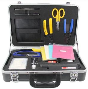China Lightweight Fiber Optic Tool Kits , Fiber Optic Cable Test Kit Flexible Piano Wire on sale