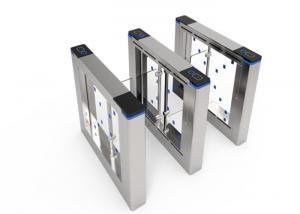 China Bi Directional Stainless Steel Turnstiles / Intelligent Tripod Security Gates on sale
