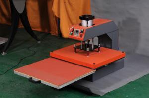 China Smoked Pull Type Pneumatic Simplex Heat Transfer Machine on sale
