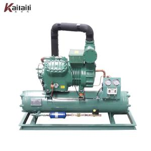 China Low Temperature Water cooled condensing unit cold room chiller on sale